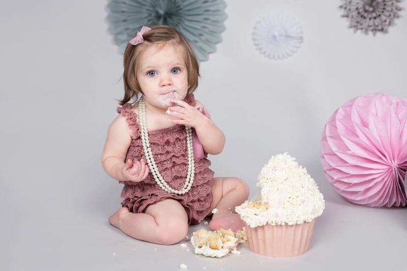 cake smash shoot essex